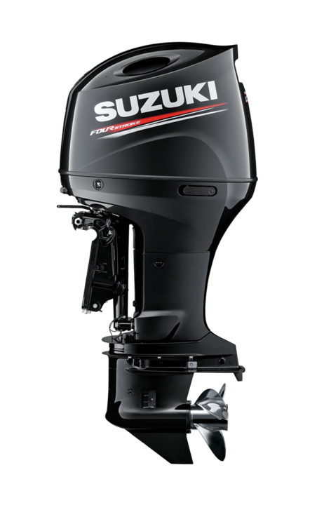 Suzuki Marine Outboard DF200AP side view from Winsor Marine