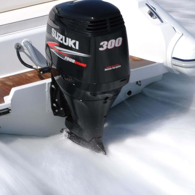 Suzuki Marine Outboard DF300AP Largest reduction gear ratio in its class from Winsor Marine