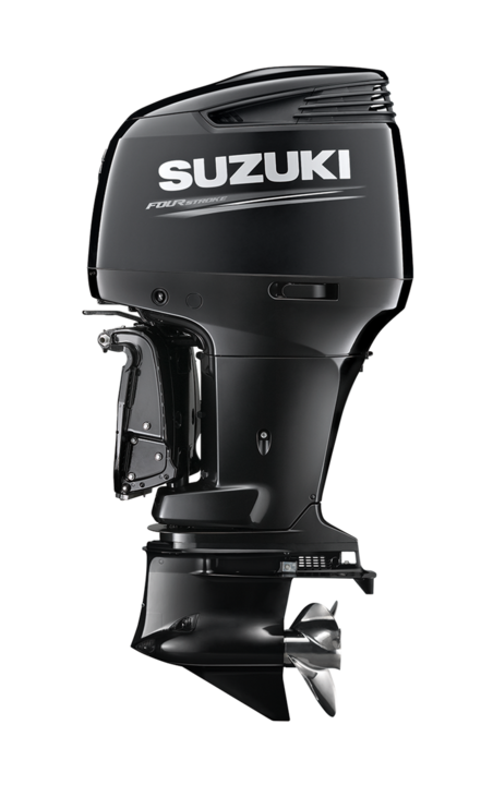 Suzuki Marine Outboard DF300AP side view from Winsor Marine